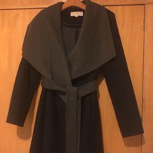 Michael Kors  blue/grey Wrap coat